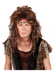 Peluca hombre prehistórico