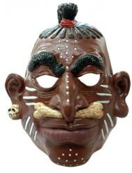 Máscara de jefe de tribu