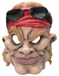 Máscara de rockero con gafas