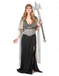 Disfraz de princesa del mar mujer