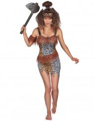 Disfraz de mujer cavernícola sexy