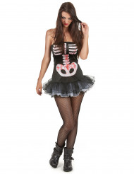 Disfraz esqueleto sexy adulto mujer Halloween