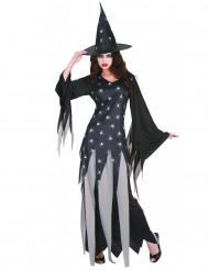 Disfraz de bruja para mujer arañas