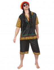 Disfraz de rastafari hombre