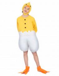 Disfraz de polluelo niño