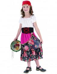 Disfraz de gitana para niña