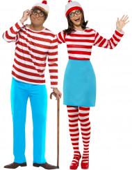 Disfraz pareja ¿Dónde está Wally?™