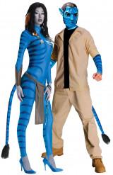 Disfraz pareja Neytiti y Jake Sully Avatar™