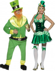Disfraz de pareja irlandesa