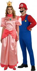 Disfraz de pareja Mario & Princess Peach™
