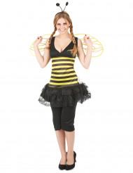 Disfraz de abeja con alas para mujer