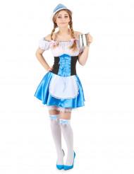Disfraz de niña de los Alpes para mujer