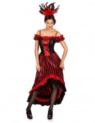 Disfraz de bailarina de cabaré para mujer