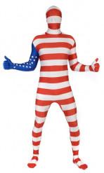Disfraz Morphsuits™ Estados-Unidos para adulto
