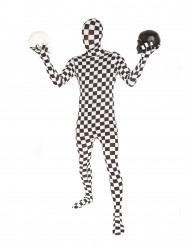 Disfraz Morphsuits™ a cuadros para adulto