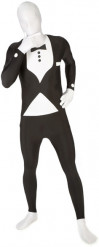Disfraz Morphsuits™ traje negro para Adulto