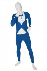 Disfraz Morphsuits™traje azul para Adulto