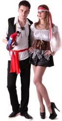 Disfraz de pareja de pirata