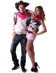 Disfraz de pareja de vaqueros del Oeste