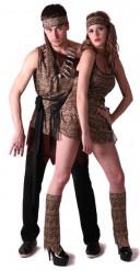 Disfraz de pareja prehistórica