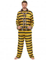 Disfraz de prisionero amarillo