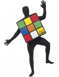 Disfraz de Cubo de Rubik adulto