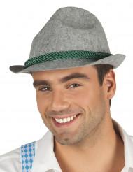 Sombrero de bávaro gris