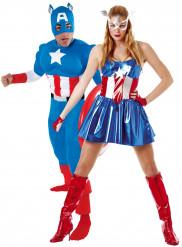 Disfraz de pareja Capitán América
