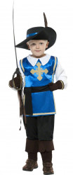 Disfraz de mosquetero para niño azul