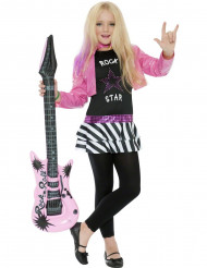 Disfraz de rockera para niña