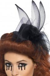 Mini sombrero de viuda Halloween