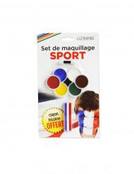 Maquillaje de 7 colores y 1 lápiz tricolor