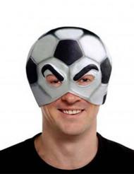 Máscara de balón de fútbol adulto