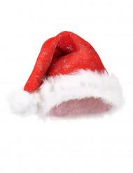 Gorro de Navidad con purpurina