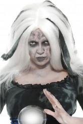 Peluca blanca de Hallowen