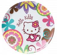 Plato de melamina Hello Kitty Bamboo™