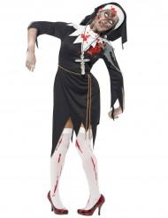 Disfraz de religiosa zombie