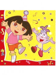 Servilletas de papel Dora Exploradora™