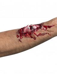 Maquillaje herida en el brazo