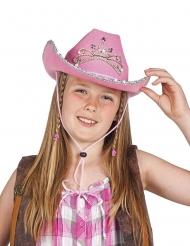 Sombrero de princesa del oeste para niña