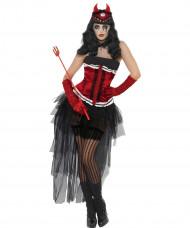 Disfraz de diva demoniaca Halloween