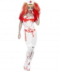 Disfraz de enfermera sangrienta adulto Halloween