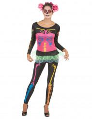 Disfraz de esqueleto para mujer Halloween