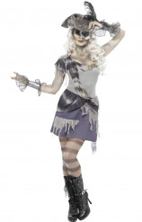 Disfraz de pirata fantasma Halloween