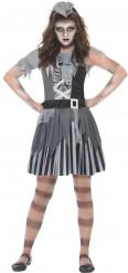 Disfraz de pirata fantasma para niña