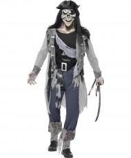 Disfraz de pirata fantasma para hombre Halloween