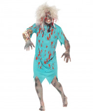 Disfraz de paciente zombie Halloween