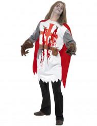 Disfraz de caballero zombie para adulto