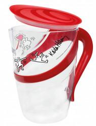 Jarra y vasos de Keith Haring