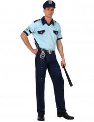 Disfraz de policía para adulto